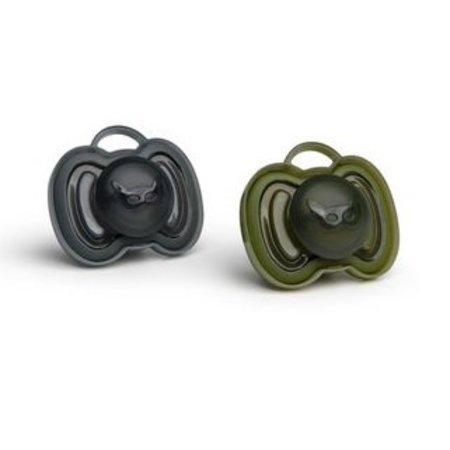 Herobility HeroPaci Fopspeen 0M+ Zwart/Groen