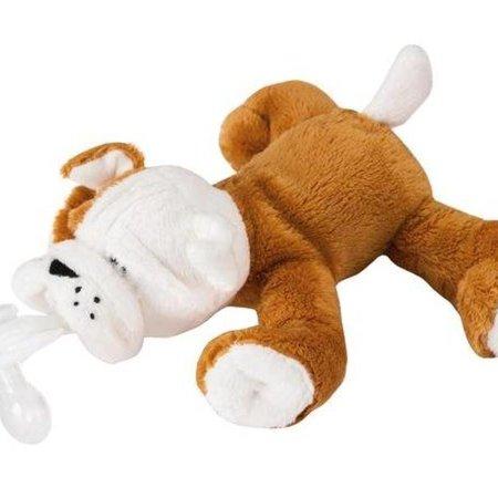 PaciPlushies Paciplushies Shakies Barkley Bulldog