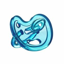 Siliconen speen 0 - 6 mnd Blauw