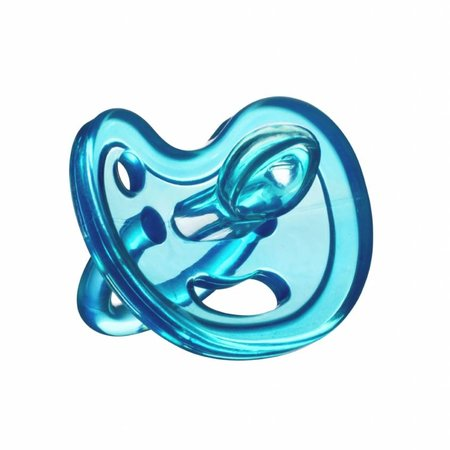Ecoviking Siliconen speen 6+ mnd  Blauw