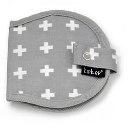 KipKep Nursery Wallet Crossy Grey