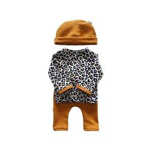 Setje Leopard Oker