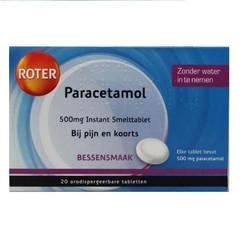 Roter Paracetamol Smelttablet