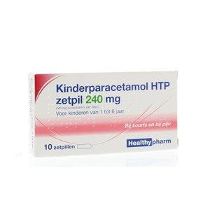 Healtypharm Paracetamol 240 mg zetpillen
