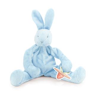 Speenknuffel Silly Buddy  Bunny Blue