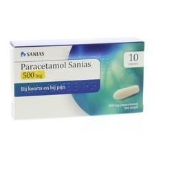 Sanias Paracetamol 500 mg zetpillen