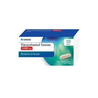 Sanias Paracetamol 1000 mg zetpillen