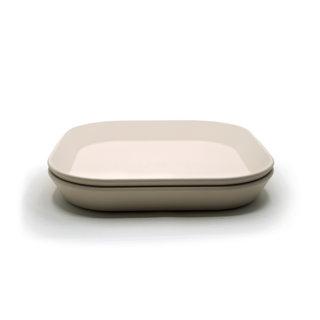 Bordje Vierkant Ivoor - 2 stuks