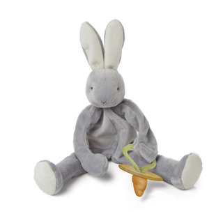 Speenknuffel Silly Buddy  Bunny Grijs