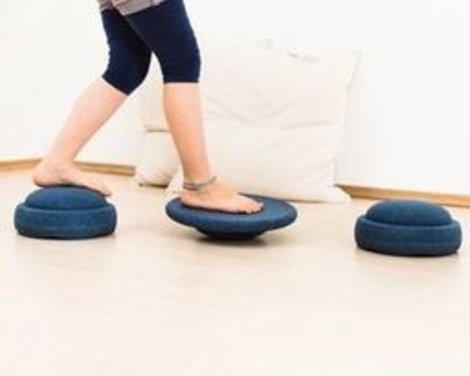 Stapelstein  Zitten - Bewegen - Spelen - Balanceren