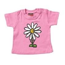 Roze baby T-Shirt Daisy 74/80