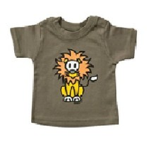 Groen baby T-Shirt Leo 86/92