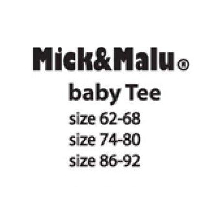 Mick & Malu Oranje babyShirt Mick van Mick&Malu