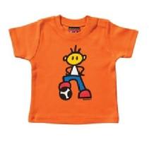 Oranje baby T-Shirt Mick