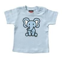 Blauw baby T-Shirt Olli Olifant