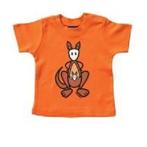 Oranje baby T-Shirt Skippy