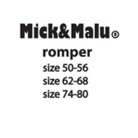Mick & Malu Roze romper Pip van Mick&Malu