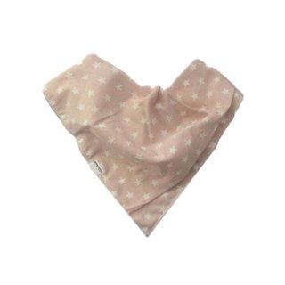 Kwijlslab roze met sterretjes