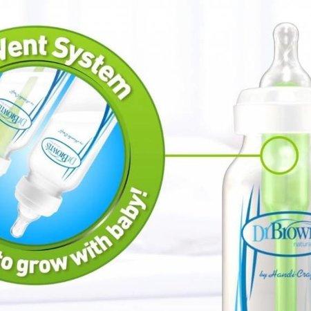 Dr.Browns Flesspeen fase 2 (3M+) Breed Option Bottle