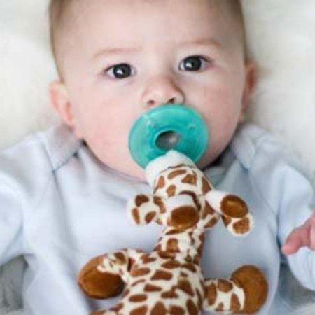 Wubbanub Wubbanub Speenknufel met giraffe