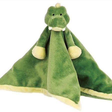 Teddykompaniet Diinglisar Knuffeldoekje Krokodil