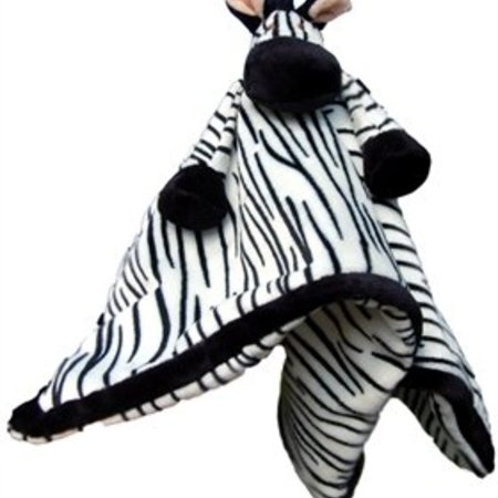 Teddykompaniet Diinglisar Knuffeldoekje Zebra