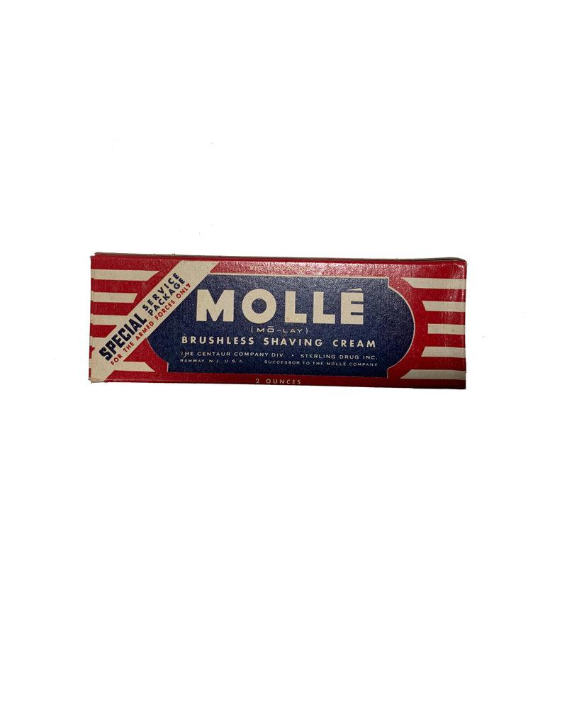 Amerikaanse Molle scheerschuim