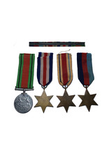 Engelse WO2 medaille set