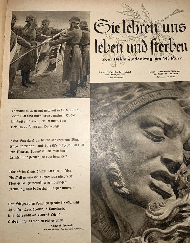 Duits WO2 SS totenkopf Die Woche