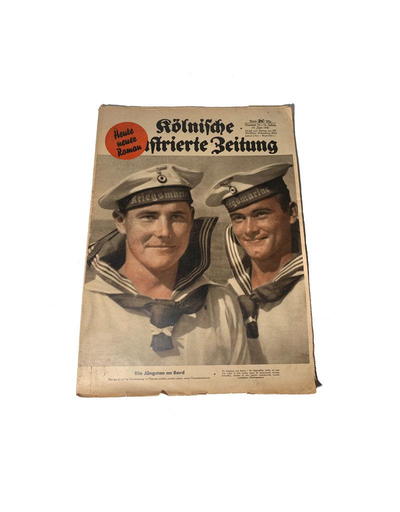 Duitse WO2 Kölnische illustrierte zeitung