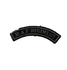 Engelse WO2 R.A.F. Regiment titel
