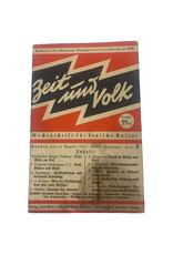 Duits WO2 Zeit und Volk tijdschrift