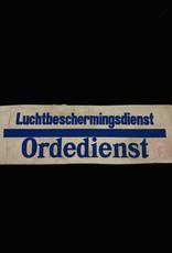Nederlandse WO2 Ordedienst Rotterdamse Luchtbeschermingsdienst armband