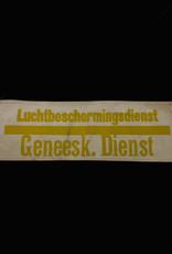 Nederlandse WO2 Geneeskundige Luchtbeschermingsdienst armband