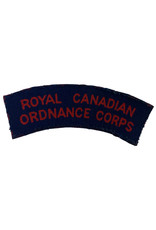Canadese WO2 printed R.C.O.C. title