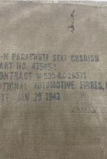 Amerikaanse WO2 parachute seat kussen