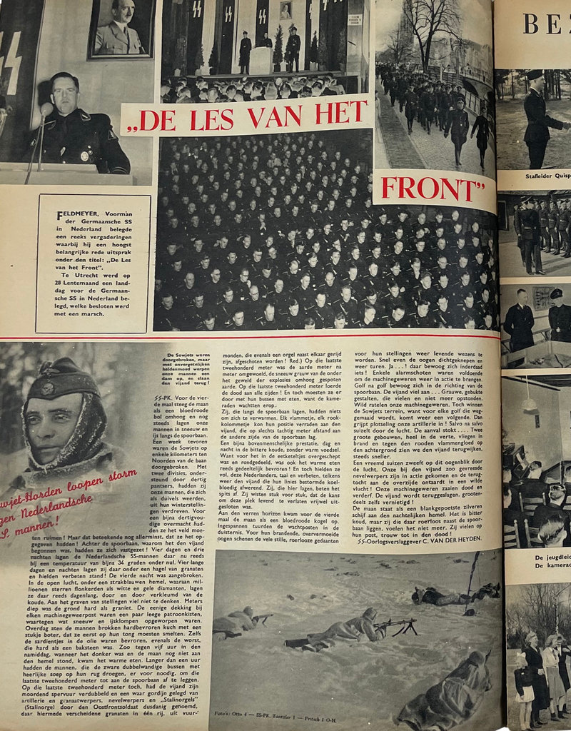 Nederlands WO2 Fotonieuws SS/NSB uitgave