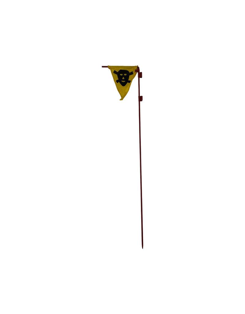 Duitse WO2 gas/mijn vlaggetjes