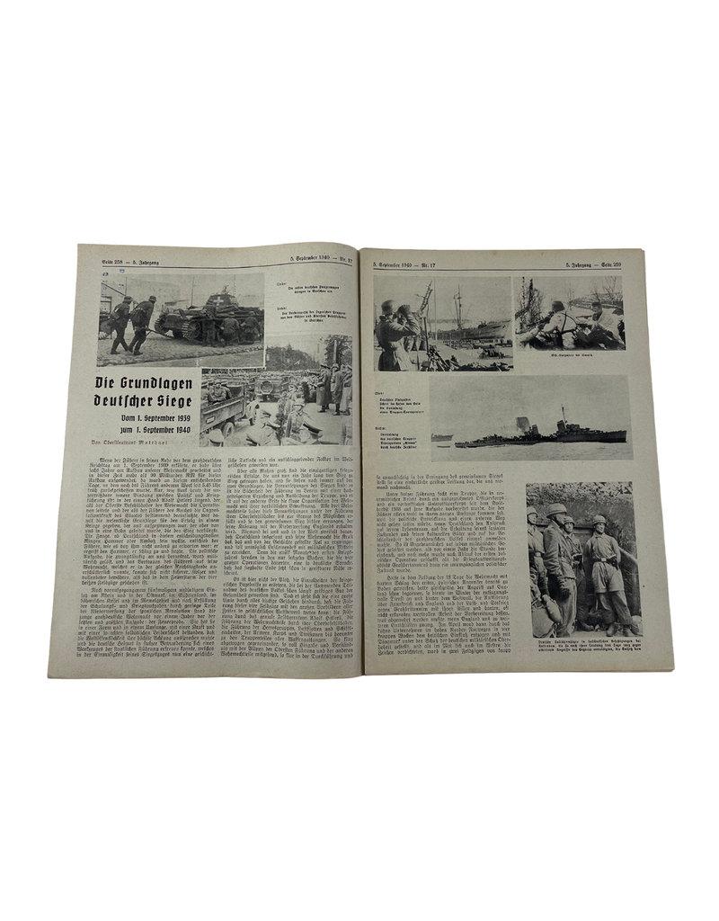 Duits WO2 Soldatenblatt Luftwaffe