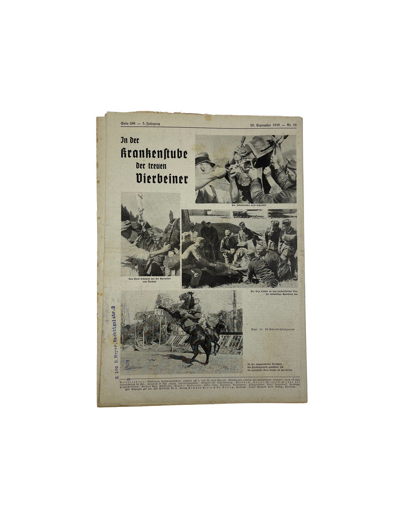 Duits WO2 Soldatenblatt