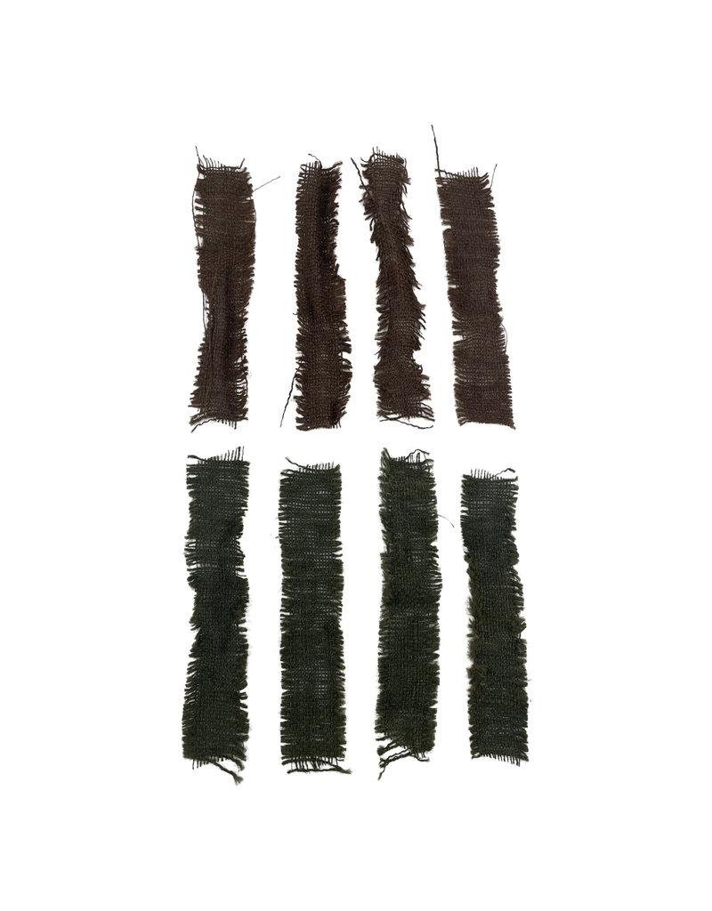 Engelse WO2 camouflage skrim bruin & groen