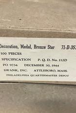 Amerikaanse WO2 Bronze star