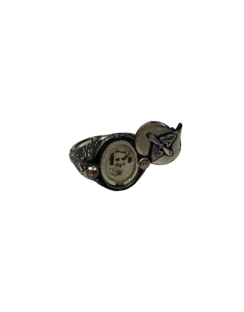 Amerikaanse WO2 USAAF Sweetheart-ring piloten