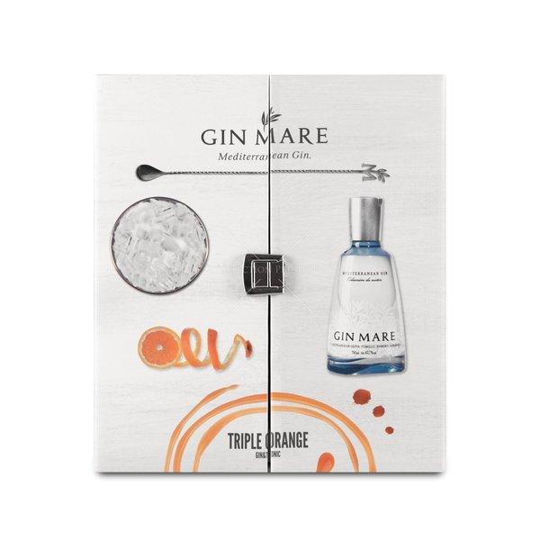 Gin-Mare Triple Orange Pack Mediterranean 70CL