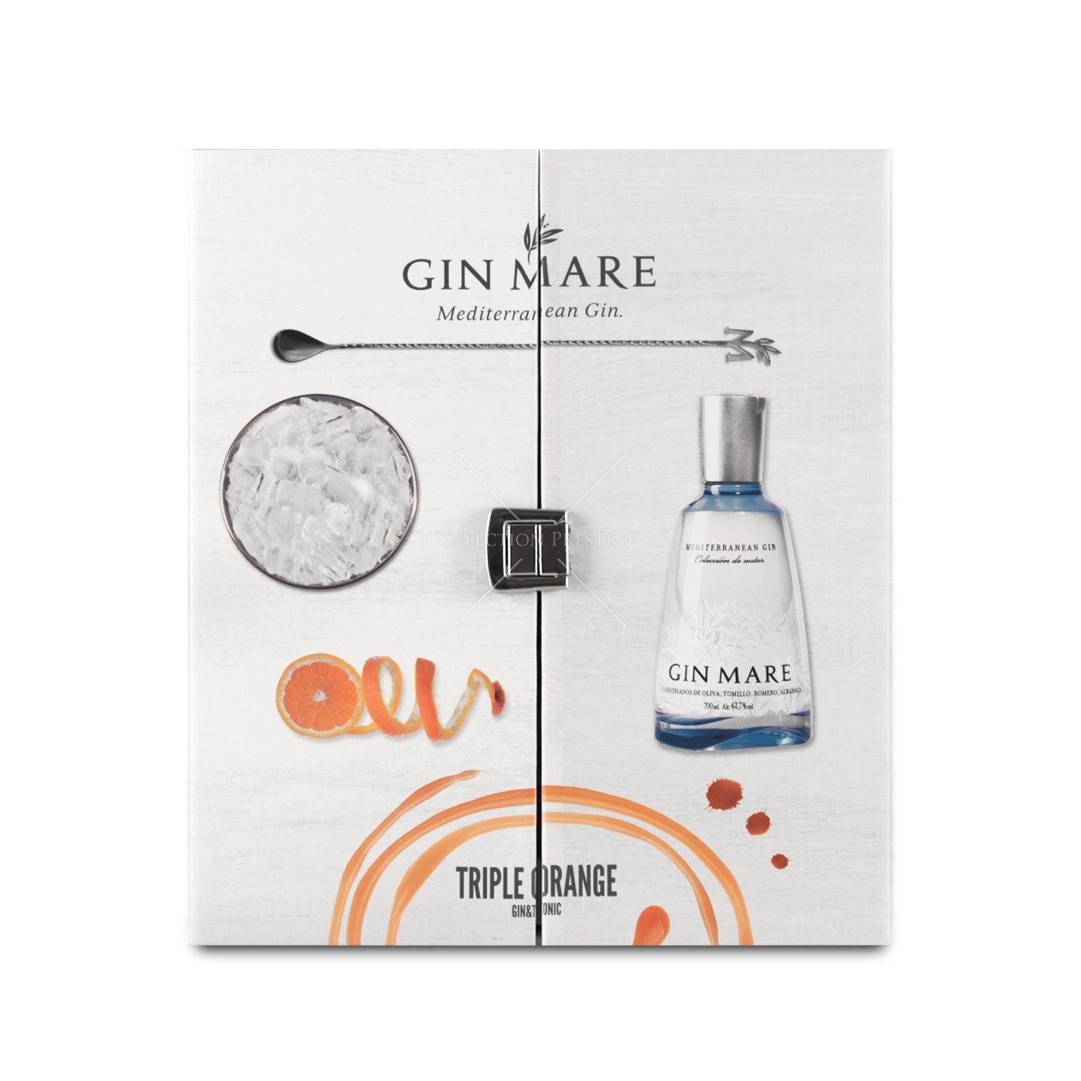 Gin-Mare Gin Mare Triple Orange Pack Mediterranean 70CL