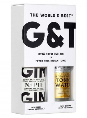 Fever-Tree Gin - Fever Tree Pack 10CL