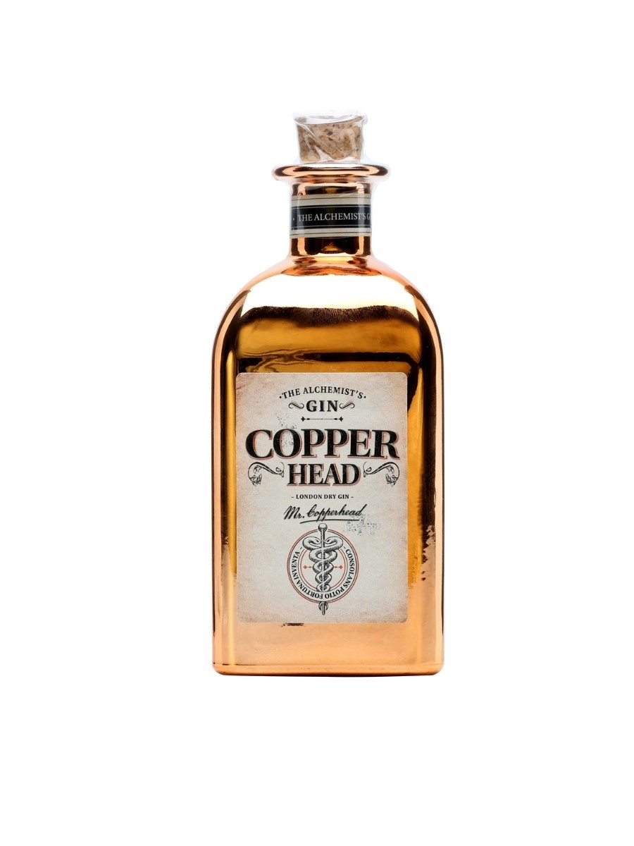 Copperhead Copperhead Gin 50CL