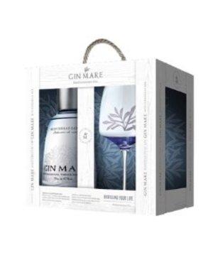 Gin-Mare Mediterranean 70CL giftpack met Ballon Glas