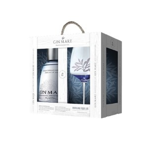 Gin-Mare Gin Mare Mediterranean 70CL giftpack met Ballon Glas
