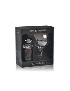 Brockmans Gin Glass Pack 70CL